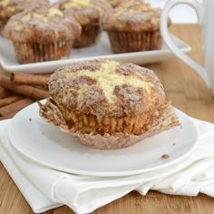 Sweet Pea's Kitchen » Snickerdoodle Muffins