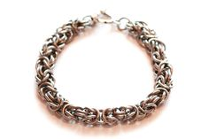 Byzantine Steel Bracelet by Gibbtall on Etsy, $20.00