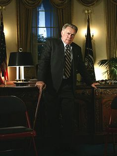 The West Wing...how I miss that show and how I wish Josiah Bartlet could run for president!