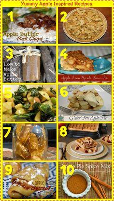 Yummy Apple Inspired Recipes