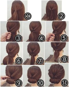 Idea Tendance Coupe & Coiffure Femme Easy Tutorials For Good . - Idea Tendance Coupe & Coiffure Femme Easy Tutorials To Style Your Hair Well – - Easy To Do Hairstyles, Wedding Hairstyles For Long Hair, Up Hairstyles, Hairstyle Ideas, Stylish Hairstyles, Interview Hairstyles, Easy Bun Hairstyles For Long Hair, Business Casual Hairstyles, Office Hairstyles