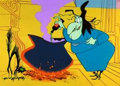 My Favorite Old Warner Bros Cartoons - Witch Hazel