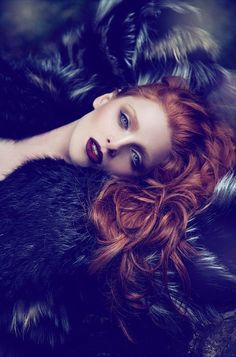 Was greatly surprised to see my friend MUA Kristina Staats work pinned on a board! Photographer Andres De Lara
