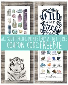 #Couponcode  FREEBIE for #buy2get1free from #SouthPacificPrints on #Etsy #Printableart #artprints #art #printable
