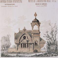 Motifs de l'architecture russe / Мотивы русской архитектуры (1878)