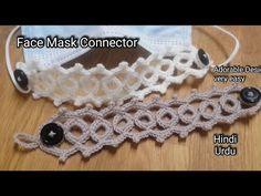 Crochet Mask, Crochet Faces, Knit Crochet, Crochet Bikini Pattern, Crochet Headband Pattern, Lace Patterns, Crochet Patterns, Knitting Stiches, Diy Arts And Crafts