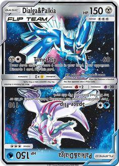Description Name: Dialga & Palkia HP: Steel(S)(U) Time Flip 60 - Draw cards until you have 6 cards in your hand. Pokemon Card Memes, Fake Pokemon Cards, Pokemon Cards Legendary, Pokemon Tcg Cards, Pokemon Trading Card, Pokemon Funny, Pokemon Pokemon, Pokemon Fusion, Pokemon Eeveelutions