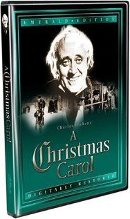 Scrooge 1951 with Alistair Sim - British version and absolutely the best of them all. Sim is the perfect Scrooge but insist on the original B version..