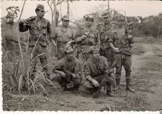 Portuguese soldiers with G3 assault rifles.