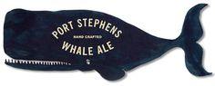 Port Stephens Whale Ale Signage
