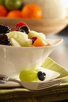 Salade de fruits aux litchis