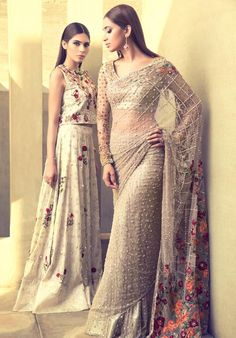 Sania Maskatiya Bridals - 'An Ode to Elegance' - Asian Wedding Ideas Pakistani Formal Dresses, Indian Dresses, Indian Wedding Outfits, Indian Outfits, Indian Attire, Indian Wear, Desi Clothes, Asian Clothes, Pakistani Couture