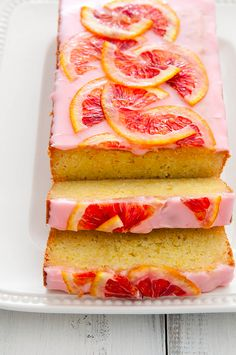 blood orange loaf cake - annie eats