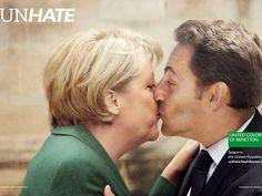 Angela Merkel & Nicolas Sarkozy #unhate