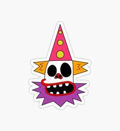 Can't sleep, clown'll eat me. Tumblr Stickers, Cool Stickers, Lego Simpsons, Simpsons Tattoo, Simpsons Characters, Tattoo Stencils, Aesthetic Stickers, Graffiti Art, Pop Art