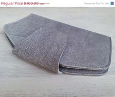 leather wallet  handmade women purse soft leather by TahelSadot, $65.00