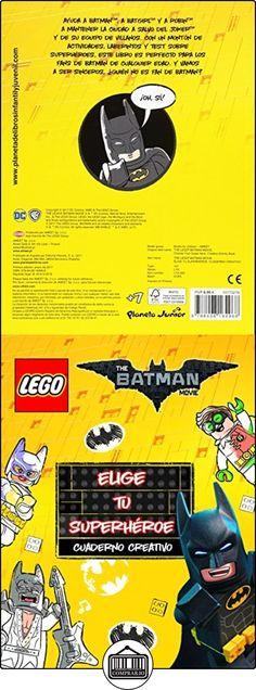 Lego Batman. Cuaderno Creativo. Elige Tu Superhéroe Lego ✿ Libros infantiles y juveniles - (De 3 a 6 años) ✿