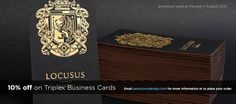 RockDesign High End Business Cards | Free Business Card Templates