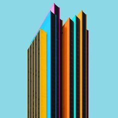 This Photographer Brightens Up Mundane German Architecture with a Jolt of Color | ArchDaily