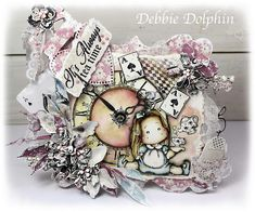 Debbie Dolphin: All About Lace & Pearls ♥