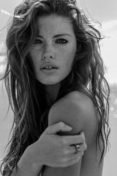 - freckles, crazy face, beautiful lady -