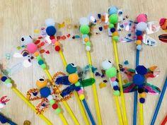 여름 가을 곤충 : 잠자리 피리 만들기 : 네이버 블로그 Art Education, Art For Kids, Arts And Crafts, Art For Toddlers, Art Education Resources, Art And Craft, Art Lessons, Art, Craft
