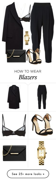 """""""blazer night"""" by xshe-hood-thox on Polyvore featuring STELLA McCARTNEY, Maison Close, The Row, MICHAEL Michael Kors, ASOS and Tory Burch"""