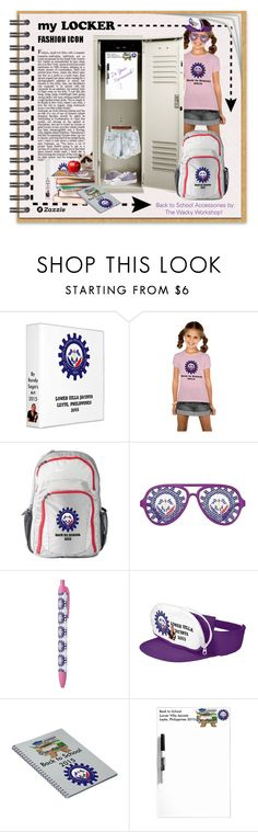 """Back to School You Can Customize!"" by wackyworkshop ❤ liked on Polyvore featuring interior, interiors, interior design, home, home decor, interior decorating, BackToSchool and mylocker"
