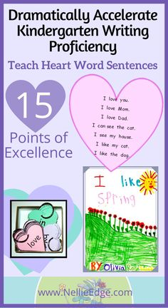 Narrative Writing Kindergarten, Narrative Writing Prompts, Personal Narrative Writing, Kindergarten Teachers, Writing Skills, Word Sentences, Cvc Words, Sight Words, Word Program