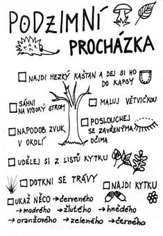 Pracovní list podzim / Návody pro tvoření | ProMaminky.cz Aa School, School Clubs, Fall Crafts For Kids, Diy And Crafts, Autumn Activities, Activities For Kids, Journal Diary, School Classroom, Social Studies