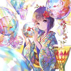 Read Anime Kimono from the story Ảnh Anime đẹp ( 1 ) by Kiritoboy (Kirigaya Yuki) with reads. Anime Girl Cute, Beautiful Anime Girl, I Love Anime, Anime Art Girl, Anime Boys, Anime Kimono, Kimono Animé, Kimono Japan, Anime Angel