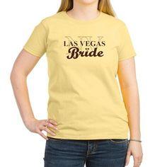Las Vegas,NV Bride Brown Sugar (W)'s Light T-Shirt