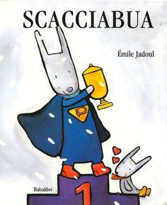 """Scacciabua. """"Il mio papà è un Superpapà"""". Così esordisce il piccolo coniglietto protagonista di questo albo tenerissimo. Papini leggete... http://www.ricominciodaquattro.com/scacciabua-lettura-3-5-anni/"""