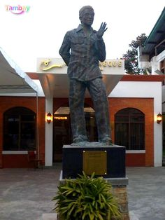 Lino Brocka, one of the Pillars of Philippine Cinema. Davao, Buddha, Cinema, Statue, City, Movies, Cities, Movie Theater, Sculptures
