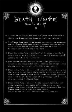 Page 10: DEATH NOTE by Leustante