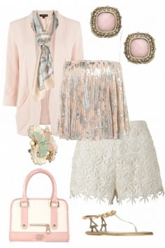 pink and white girly outfit outfit outfit