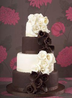 Chocolate and White Cake!!!