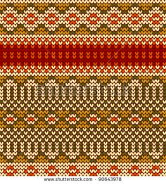 seamless knit pattern, knitted texture Seamless Snowflake Knit Vector background for textile design. Wallpaper, background.