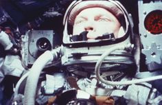 "Five minutes and four seconds into the flight of the Friendship 7, as John Glenn prepared to become the first American to orbit Earth, he radioed to NASA, his capsule turned and brought the Earth into sight. ""Oh, that view is tremendous,"" he said."
