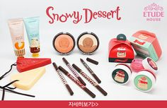 The Beauty Sweet Spot: REVIEW: Etude House Snowy Dessert Makeup Set in Sw...