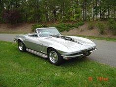 A Corvette that could make night fire. http://danielwetta.com/2014/02/26/corvette-thunder/