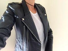MUST! Finn Biker Leather Jacket    Splice Boutique