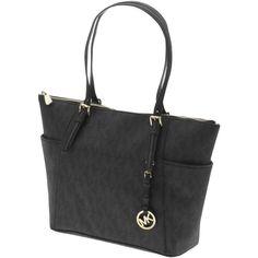 1230769bed81 Designer Clothes, Shoes & Bags for Women | SSENSE. Black ToteMichael Kors  ...