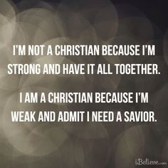 Because He is My Rock and My Salvation