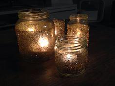 Xmas candle # selfmade