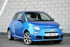 Used 2015 (64 reg) Blue Fiat 500 1.2 S 3dr for sale on RAC Cars