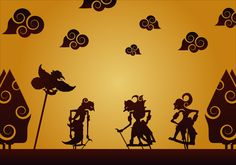 Wayang Vector Wallpaper Pictures, Wallpaper Backgrounds, Artwork Design, Design Art, Yoga, Cultural Crafts, Indonesian Art, Magazine Layout Design, Shadow Art