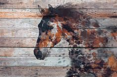 Extra Large Horse, Unique Horse Wall Decor, Brown Rustic Horse, Large Contemporary Canvas Art Print up to by Irena Orlov Wall Art Decor for Home, Office or Hotel Farmhouse Rustic Horse…MoreMore CLICK Visit link above for more info Canvas Art Prints, Painting Prints, Horse Canvas Painting, Fire Horse, Horse Wall Art, Horse Artwork, Horse Print, Texture Art, Animal Paintings