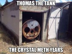 Looks like Thomas really went off the rails. ( •_•) ( •_•)>⌐■-■ (⌐■_■)