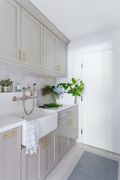 """Fantastic """"laundry room storage diy shelves"""" info is available on our internet site. Have a look and you wont be sorry you did. Grey Laundry Rooms, Laundry Room Cabinets, Basement Laundry, Laundry Room Organization, Small Laundry, Grey Cabinets, Laundry Room Design, Shaker Cabinets, Storage Organization"""